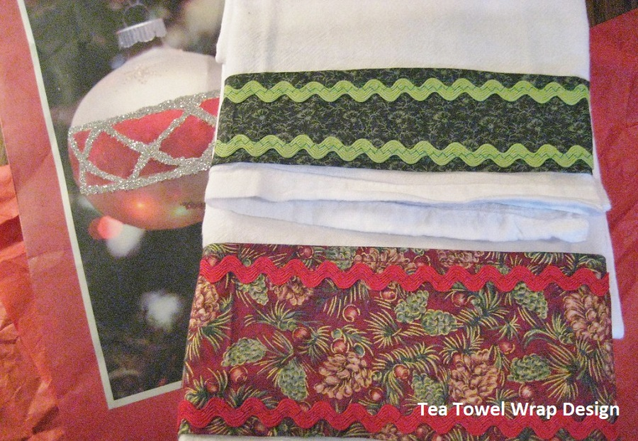 Tea Towels Gift Wrapping